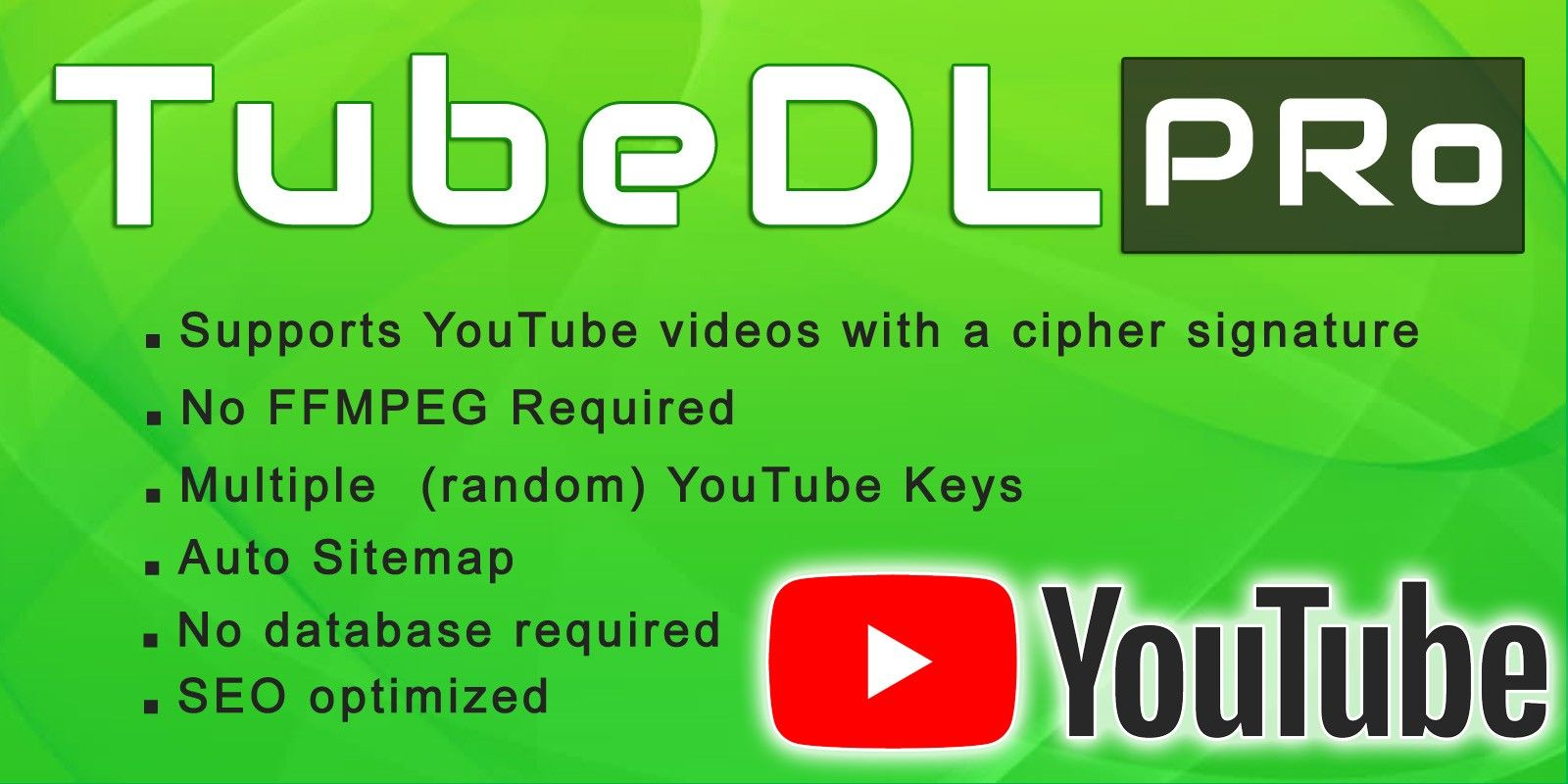 Tubedl Pro - Youtube Video Downloader PHP   EScripts   Welcome to